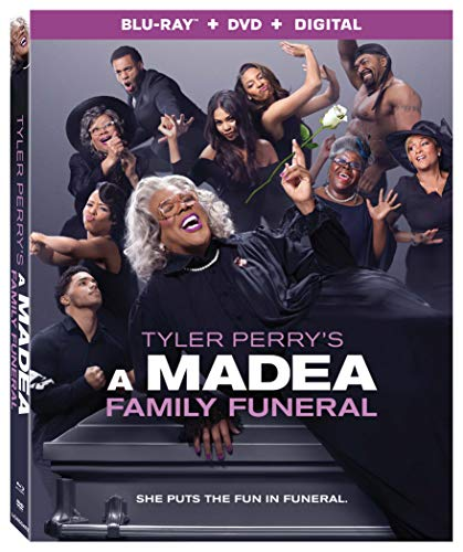 A Madea Family Funeral Perry Davis Blu Ray DVD Dc Pg13