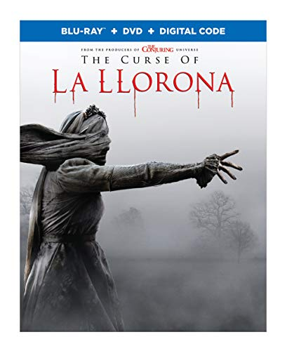 The Curse Of La Llorona Cardellini Cruz Velasquez Blu Ray DVD Dc R