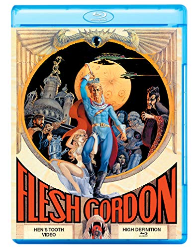 Flesh Gordon Williams Fields Hudgins Blu Ray R