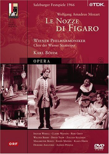 Wolfgang Amadeus Mozart Le Nozze Di Figaro Wixell Watson Grist Berry & Bohm Vienna Phil