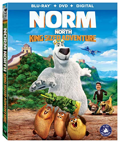 Norm Of The North King Sized Adventure Norm Of The North King Sized Adventure Blu Ray DVD Pg