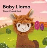 Chronicle Books Baby Llama Finger Puppet Book