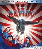Dumbo (2019) Disney Blu Ray DVD Dc Pg