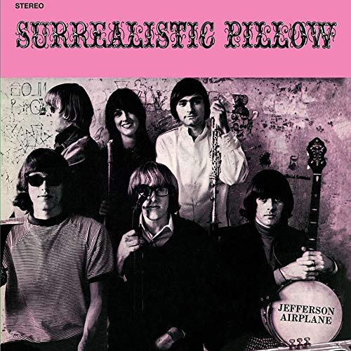 Jefferson Airplane Surrealistic Pillow (black White & Gray Swirl Vinyl 180 Gram Black White & Gray Swirl Audiophile Vinyl Gatefold Cover