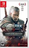 Nintendo Switch Witcher 3 Wild Hunt Complete Edition