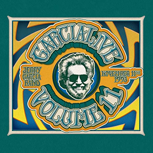 Jerry Garcia Band Garcialive Volume Eleven November 11th 1993 Providence Civic Center 2 CD