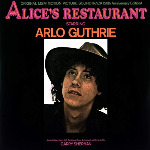 Alice's Restaurant Original Mgm Motion Picture Soundtrack 50th Anniversary Edition 2lp Arlo Guthrie