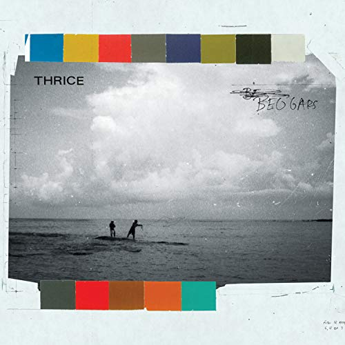 Thrice Beggars 10th Anniversary Striped Colored Vinyl + 7""