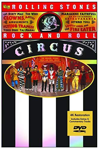 The Rolling Stones The Rolling Stones Rock & Roll Circus DVD 4k Edition