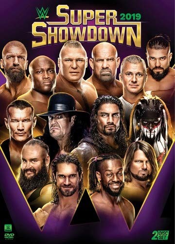 Wwe Super Showdown 2019 DVD Nr