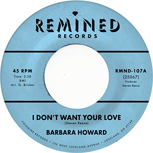 Barbara Howard I Don't Want Your Love (pink Vinyl) .