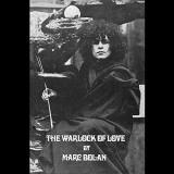 "Marc Bolan The Warlock Of Love 50th Anniversary Edition Hardcover Book (size 8.5"" X 5.7"") W CD"