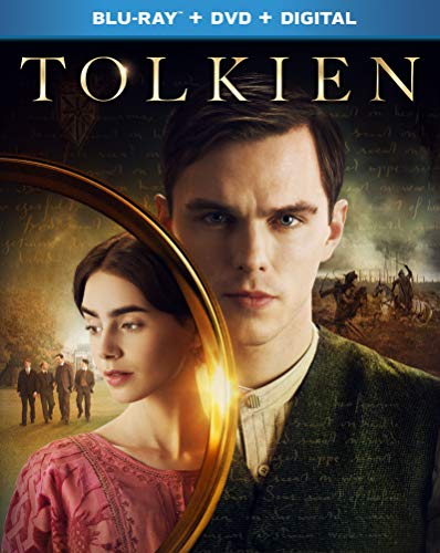 Tolkien Hoult Collins Meaney Blu Ray DVD Dc Pg13