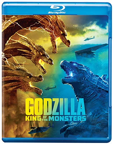 Godzilla King Of The Monsters Chandler Farmiga Brown Blu Ray DVD Dc Pg13