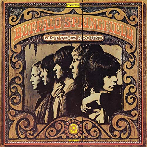 Buffalo Springfield Last Time Round (stereo) 1 Lp 180 Gram Black Vinyl Rhino Summer Of 69 Exclusive
