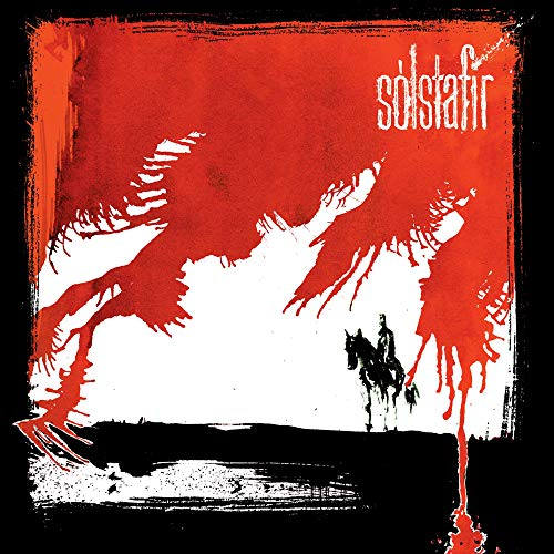 Solstafir Svartir Sandar (red Black Vinyl) Ltd. Ed Transparent Red & Black Mixed Vinyl Gatefold 2lp