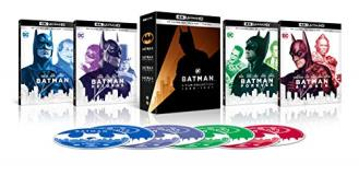 Batman 4 Film Collection 4khd Nr