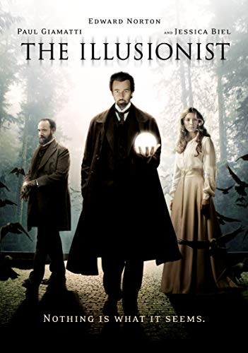The Illusionist Norton Giamatti Biel DVD Pg13