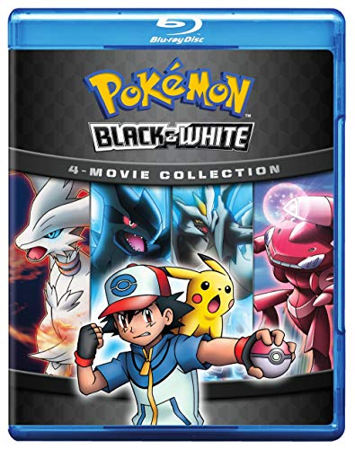 Pokemon Black & White 4 Movie Collection Blu Ray Nr