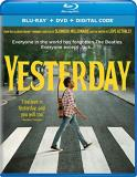Yesterday Patel James Dimartino Blu Ray DVD Dc Pg13