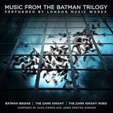 Batman Music From The Batman Trilogy The City Of Prague Philharmonic Orchestra 2lp