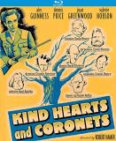 Kind Hearts & Coronets Guinness Price Hobson Blu Ray Nr