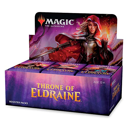 Magic The Gathering Cards Throne Of Eldraine Full Display Of 36 Booster Pack