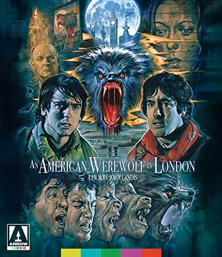An American Werewolf In London Naughton Dunne Agutter Blu Ray R