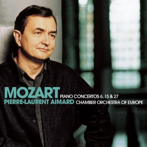 W.A. Mozart Piano Concertos Nos 6 15 & 27 Aimard Chamber Of Orchestra Of