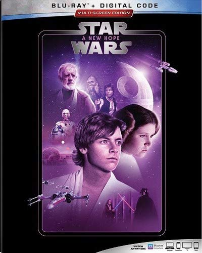 Star Wars A New Hope Hamill Ford Fisher Blu Ray Pg