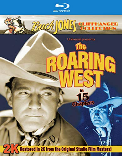 Roaring West Jones Silver Blu Ray Nr
