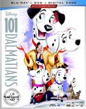 101 Dalmatians Disney Blu Ray DVD G Signature Collection
