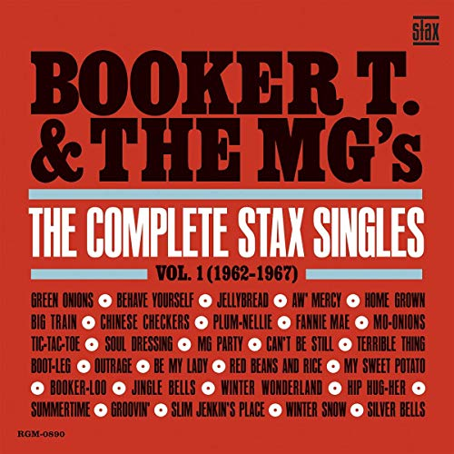 Booker T. & The Mg's The Complete Stax Singles Vol. 1 (1962 1967) Blue Vinyl 2lp Blue Vinyl