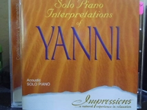 Steve Williams Solo Piano Interpretations Of Yanni