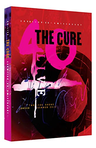 The Cure 40 Live Curaetion 25 + Anniversary 2 Blu Ray