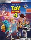 Toy Story 4 Disney Blu Ray DVD Dc G