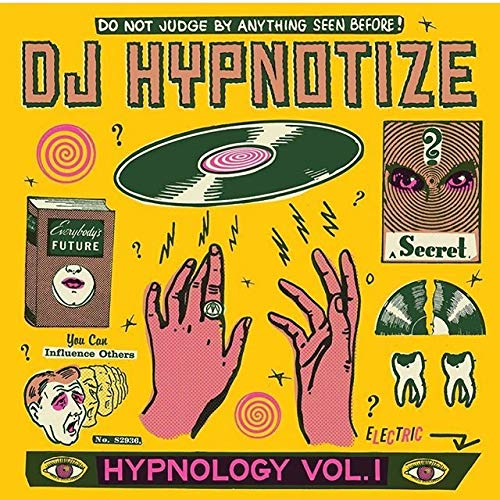 Dj Hynotize Hypnology Vol. 1 White Marbled Vinyl