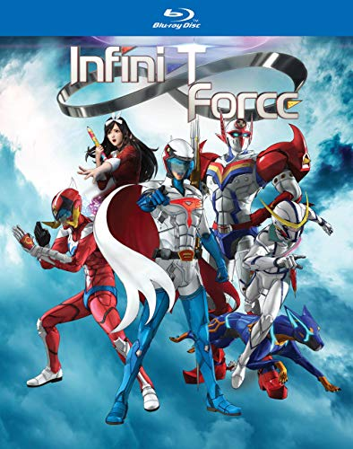Infini T Force The Complete Series Blu Ray Nr