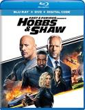 Fast & The Furious Presents Hobbs & Shaw Johnson Statham Blu Ray DVD Dc Pg13