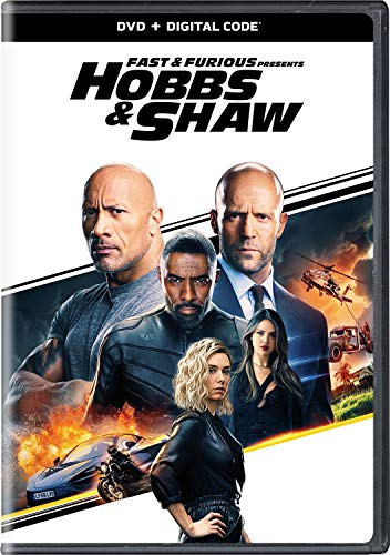 Fast & The Furious Presents Hobbs & Shaw Johnson Statham DVD Dc Pg13