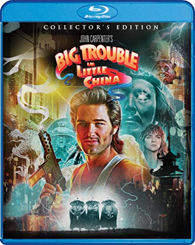 Big Trouble In Little China Russell Cattrall Dun Blu Ray Pg13