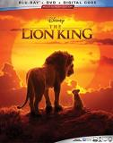 The Lion King (2019) Glover Beyonce Rogen Blu Ray DVD Dc Pg