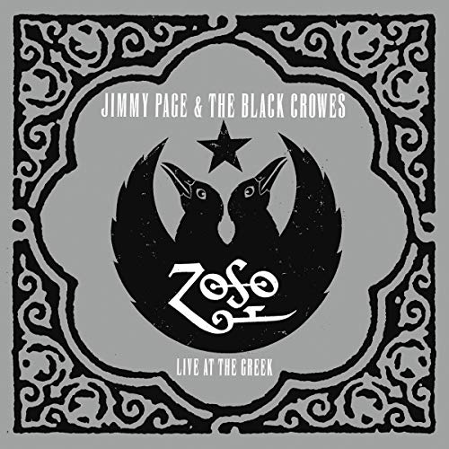 Jimmy Page & The Black Crowes Live At The Greek 3 Lp 20th Anniversary Audiophile Edition