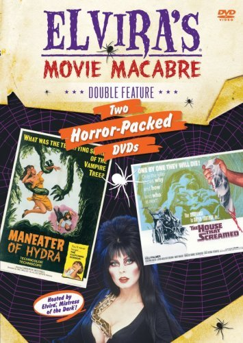 Maneater House That Screamed Elvira's Movie Macabre Pg 2 DVD
