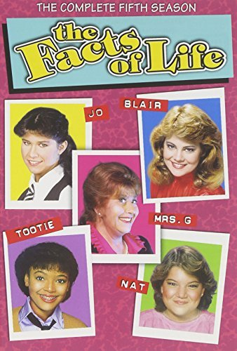 The Facts Of Life Season 5 DVD Nr