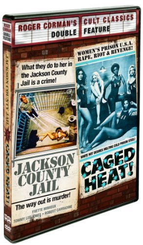 Jackson County Jail Caged Heat Double Feature DVD R