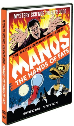 Mystery Science Theater 3000 Manos The Hand Of Fate Special Ed. Nr 2 DVD