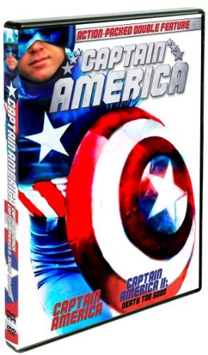 Captain America Captain America Ii Death Too Soon Double Feature DVD Nr