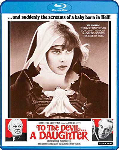 To The Devil A Daughter Widmark Lee Kinski Blu Ray R