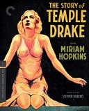 The Story Of Temple Drake Hopkins Gargan Blu Ray Criterion